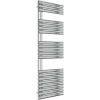 Reina Scalo 1535 x 500mm Stainless Steel Vertical Radiator - Brushed