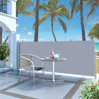 Retractable Side Awning 120 x 300 cm Cream - YOUTHUP