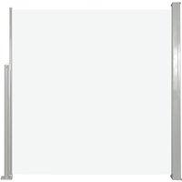 Retractable Side Awning 140 x 300 cm Cream - VIDAXL