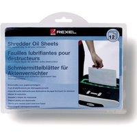 Shredder Oil Sheets 12pcs - Rexel