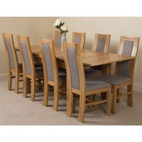 Modern Furniture Direct - Richmond Solid Oak 140cm-220cm Ext