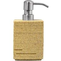 Soap Dispenser Brick Ecru - Brown - Ridder