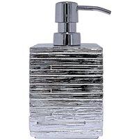 Soap Dispenser Brick Silver - Silver - Ridder