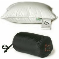 Ringsted Dun Travel Size Danish Duck Down and Feather Pillow [40 x 35cm]