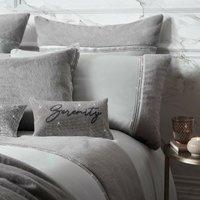 Rita Ora Sylvie Super King Duvet Cover Mineral Luxury Designer Bedding Quilt