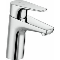 Atlas Basin Mixer Tap with Smooth Body and Flexible Tails - Roca