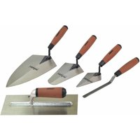 Rolson 52489 5pc Tradesman Trowel Set