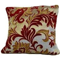 Rome Cushion Cover 17 x 17 Wine Bed Sofa Unfilled Accessory