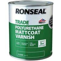 Trade Varnish - Matt Coat - 750ml - Ronseal