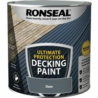 Ultimate Protection Decking Paint Slate 2.5 litre - Ronseal