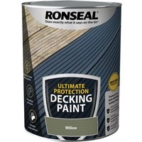 Ultimate Protection Decking Paint Willow 5 litre - Ronseal