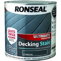 Ultimate Protection Decking Stain - Charcoal - 5 Litre - Ronseal