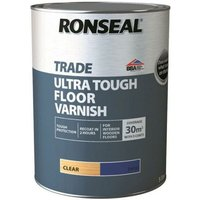 Ultra Tough Floor Varnish - Satin - 5L - Ronseal