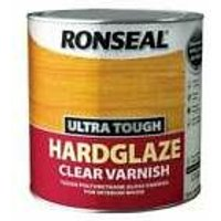 Ronseal UTVHG25L 2.5L Ultra Tough Hardglaze Internal Clear Gloss Varnish
