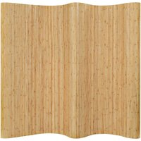 Youthup - Room Divider Bamboo 250x165 cm Natural