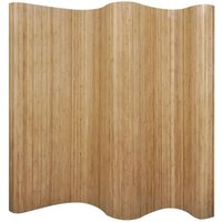 Betterlifegb - Room Divider Bamboo Natural 250x165 cm9675-Serial number