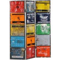 Betterlifegb - Room Divider Multicolour 45x17x167 cm Iron27287-Serial number