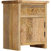 Rossville 1 Drawer Bedside Table by Brown - Bloomsbury Market