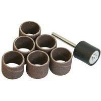 783145 Rotary Tool Drum Sanding Set 7pce 12.70mm (1/2) - Silverline