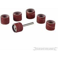 Silverline 783145 Rotary Tool Drum Sanding Set 7pce 12.70mm (1/2)