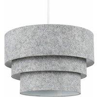 Round 3 Tier Felt Ceiling Pendant Light Lamp Shade Easy Fit