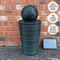 Round Ball Solar Water Feature