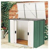 Greenvale 4x2 Metal Storette Garden Storage Unit Cabinet Shed - Rowlinson