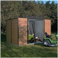 Rowlinsons - Woodvale Metal Shed - 10 x 12