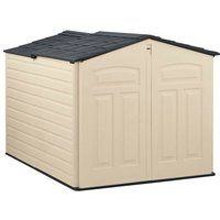 5x6 Sliding Plastic Shed - Rubbermaid