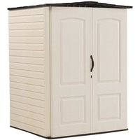 5x4 Vertical Plastic Shed - Rubbermaid