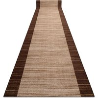 Rugsx - Runner anti-slip STREIFEN 120 cm brown Shades of brown 120x780 cm