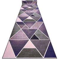 Runner anti-slip TRIANGLES gum violet 57 cm Shades of violet 57x630 cm