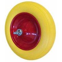Ruota Piena In Poliuretano Per Carriola Modello Vespa Con Asse D. 375 30608 - ROCARR