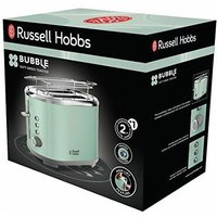 25080-56 2slice(s) 930W Green toaster - Russell Hobbs