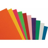 Corrugated Paper Bright - Pack of 10 - Rvfm