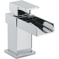 Sagittarius Nice Mono Basin Mixer Tap with Sprung Waste - Chrome