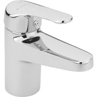 Sagittarius Thermostatic TMV2 Monobloc Basin Mixer Tap - Chrome