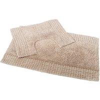 San Marino 2 Piece Cotton Bath Mat Set - SHOWERDRAPE