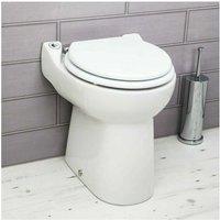 SFA - Saniflo Sanicompact Back To Wall Toilet Built-in Macerator Pump
