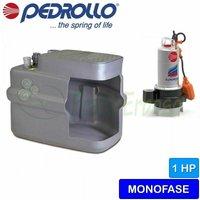 Pedrollo - SAR 100-VXm 10/50 - Stazione di sollevamento acqua lurida