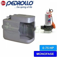 Pedrollo - SAR 100-VXm 8/50 - Stazione di sollevamento acqua lurida