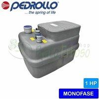 Pedrollo - SAR 250-Dm 20 - Stazione di sollevamento acqua piovana