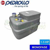 Pedrollo - SAR 250-Dm 30 - Stazione di sollevamento acqua piovana