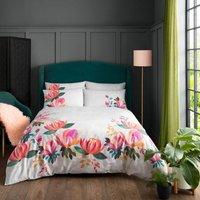 Bedding Peony Petals Super King Size Duvet Cover Set - Sara Miller
