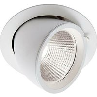 Saxby Axial - Integrated LED Recessed Light Matt White,
