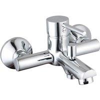 SCHÜTTE Bath Shower Mixer Tap LAURANA Chrome - Silver