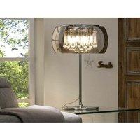 Schuller Lighting - Schuller Argos - 4 Light Crystal Table Lamp Chrome, Mirror, G9