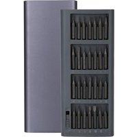 Screwdriver Set 56-in-1 Aluminum Handle S2 Tool Steel Driver Bit Kit Pocket Screwdriver Repair Kit for PC Tablet,model: 56PCS