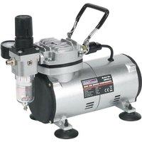 AB900 Mini Air Brush Compressor Quiet 120w Respray