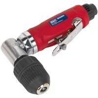 Sealey Air Angle Drill with 10mm Keyless Chuck